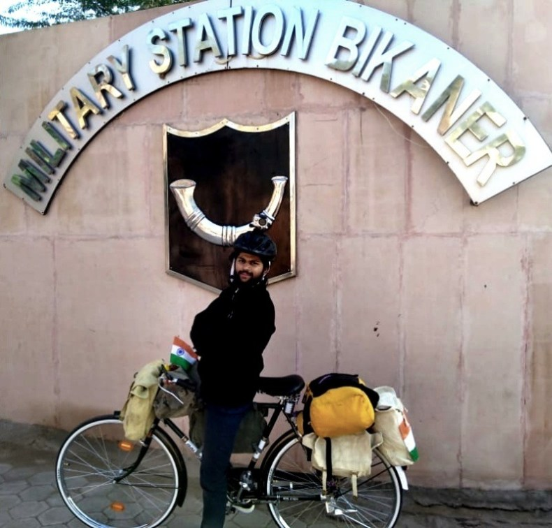 Single Speed Touring from Bikaner