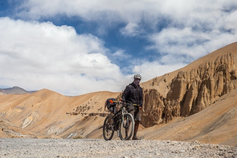 Cycling from Debring to Whiskey Nala