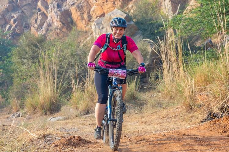 Silke at Aravalli Trailhunters Finale
