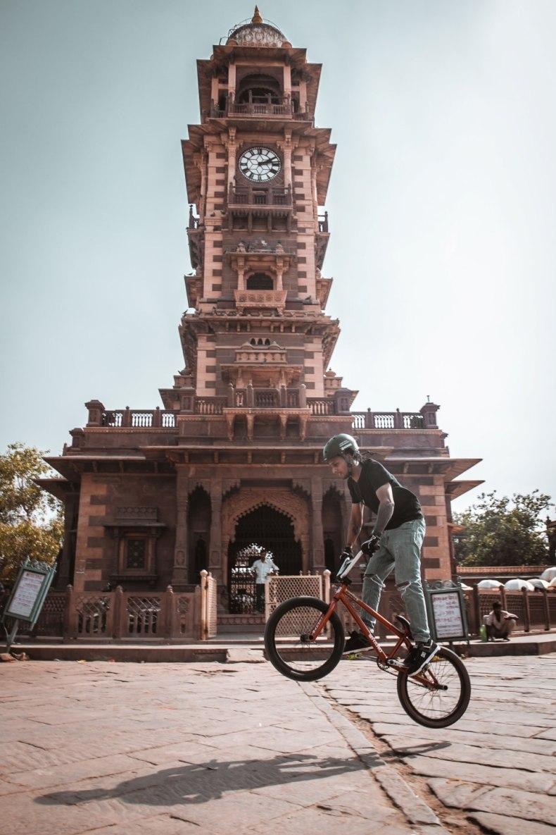 Cycling Ghanta Ghar Jodhpur