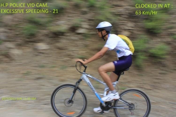 Shiven Aerohawk Childhood cycling photo