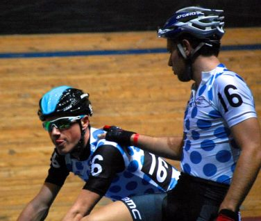 Adam Blythe and Pete Kennaugh reflect on second place in the National Madison Championship - ©Paul Harris