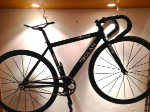 Hayley's Dolan Track Bike with SRAM, Dura Ace, Mavic