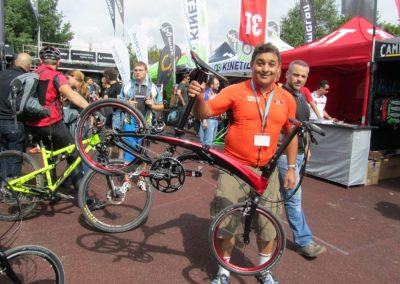 Eurobike 2013 Demo Day – Tern Folding Bikes Test Ride
