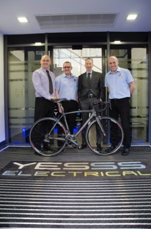 "Shaun Myers - Yesss Electrical – Head of Design & Marketing Andy Birdsall - Tickhill Velo Club – Chairman Andy Singleton – Yesss Group Europe – General Manager  ""Rapid"" Rich Stoodley – Tickhill Grand Prix – Organiser"