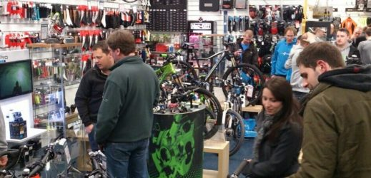 A well stocked, knowledgeable Local Bike Shop is a great place to shop.