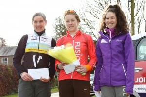 MuleBar Tour of Northumberland 2016 | Stage One Women's Podium