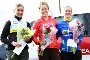 MuleBar Tour of Northumberland 2016 | Stage Two Women's Podium