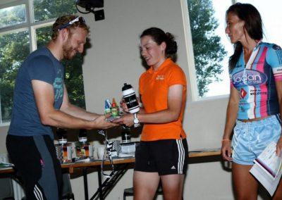 Team Jadan - Weldtite V718 10 Miler TT Fund Raiser 2016 Junior women winner Henrietta Colbourne Team Ford EcoBoost 20.21