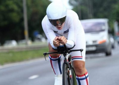 Team Jadan - Weldtite V718 10 Miler TT Fund Raiser 2016 - Hayley Simmonds (AeroCoach) New record 19.31