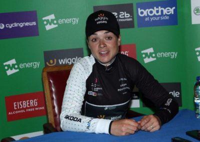 Interview with QoM's – Audrey Cordon-Ragot – Stage 4 OVO Women's Tour