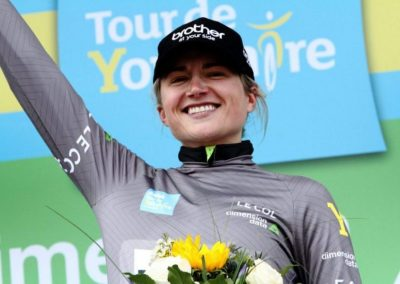 Interview – Leah Dixon – Stage 1 Women's Tour de Yorkshire 2019 Grey Jersey
