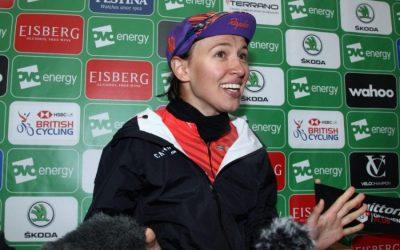 Interview – Kasia Niewiadoma – Stage 4 Winner – OVO Women's Tour 2019