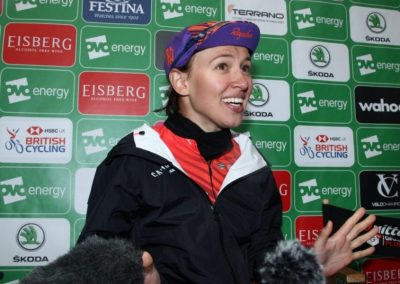 Interview – Kasia Niewiadoma – Stage 4 Winner – OVO Women's Tour 2019