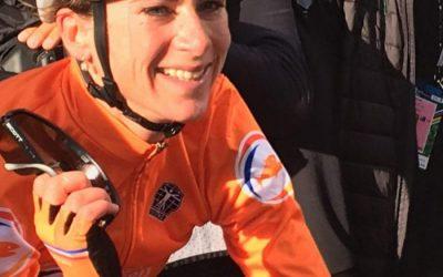 Annemiek van Vleuten Press Conference UCI Women's Elite Road Race World Champion