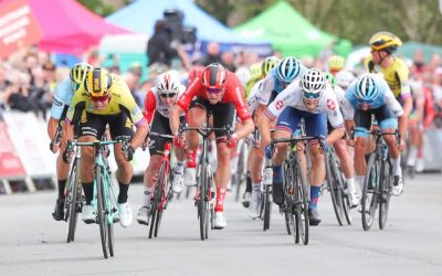 Matteo Trentin retakes OVO Energy Tour of Britain lead after Wirral stage