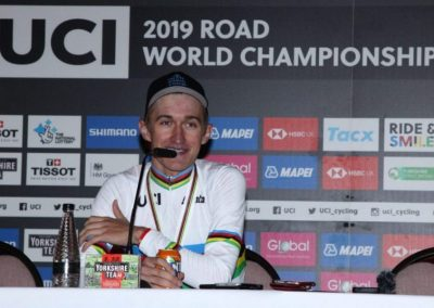 Press Conference with U23's Men Individual Time Trial