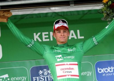 Interview – Mathieu Van Der Poel OVOToB Leader Stage 4 2019
