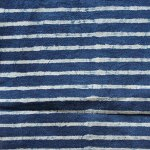 Block Print Dabu Stripe Indigo