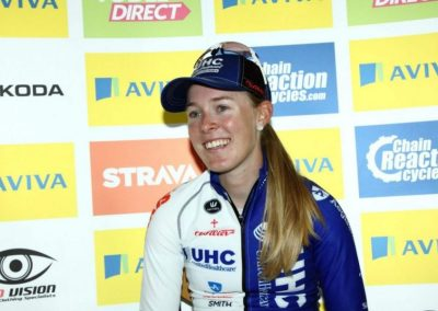 Interview – Hannah Barnes Stage 5 Winner- Womens Tour 2015
