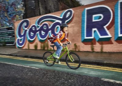 Teaching your child to ride a bike with Isla Rowntree