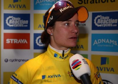 Interview – Marianne Vos Stage 2 AVIVA Women's Tour 2016