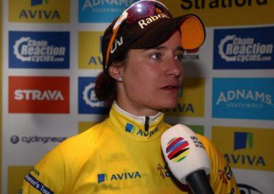 Interview – Marianne Vos Stage 2 AVIVA Women's Tour 2016