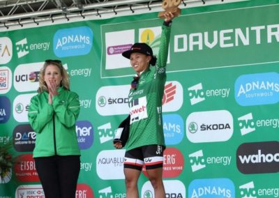 Interview – Coryn Rivera Stage 2 Winner & Green Jersey OVO Women's Tour 2018