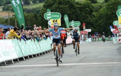 Lizzie Deignan takes control of the OVO Energy Women's Tour in Wales