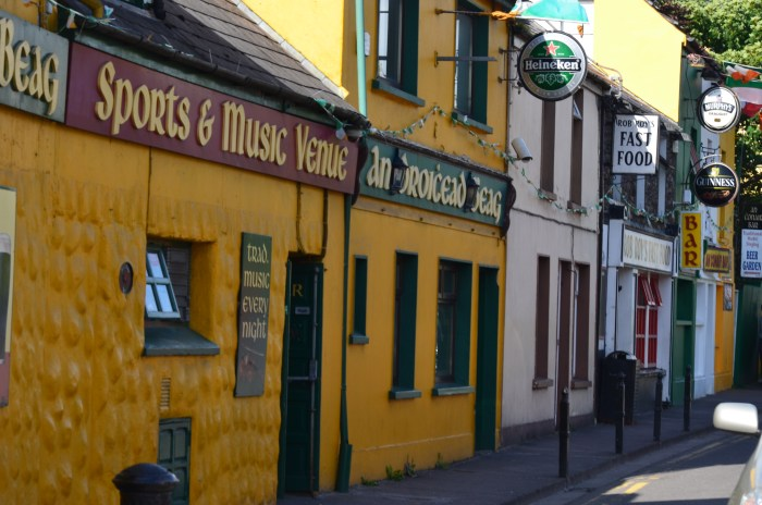 Just one of the 55 or so pubs in Dingle Town, County Kerry, Ireland