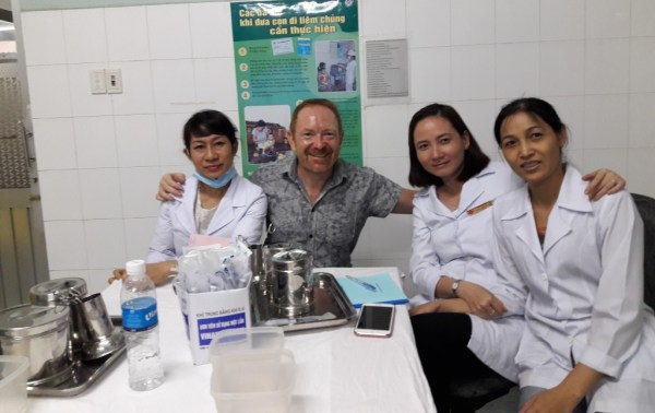 Yellow Fever vaccination, Ho Chi Minh City, Vietnam