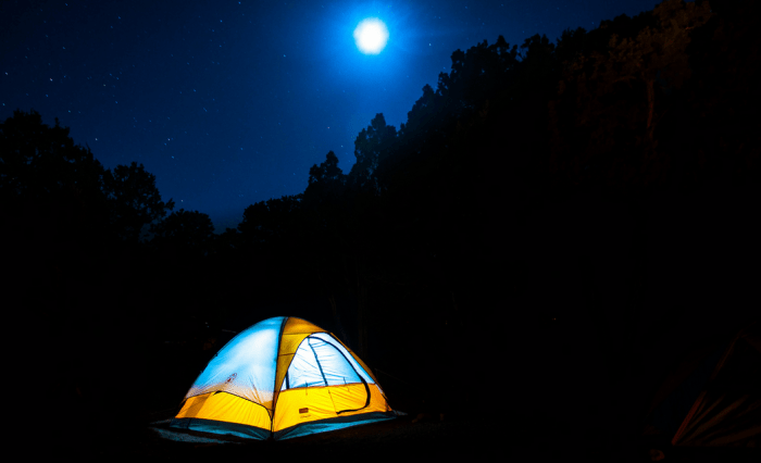 Wild camping, Atlas Mountains, Morocco