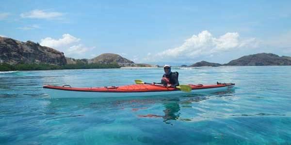 Kayaking and diving Komodo National Park