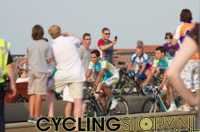 Alberto Contador van Astana (foto: © Laurens Alblas / Cyclingstory.nl)