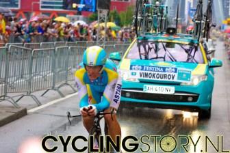 Alexandre Vinokourov van Astana (foto: © Laurens Alblas/Cyclingstory.nl)