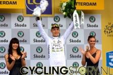 Ook Tony Martin behield zijn trui (foto: © Laurens Alblas/Cyclingstory.nl)