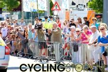Mart Smeets is inmiddels ook gearriveerd (foto: © Laurens Alblas/Cyclingstory.nl)