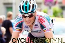 Roelandts zou later alsnog moeten lossen van Chavanel (foto: © Laurens Alblas/Cyclingstory.nl)