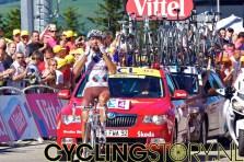Riblon kon het niet geloven... (foto: © Laurens Alblas/Cyclingstory.nl)