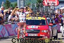 ...maar hij won vandaag de etappe... (foto: © Laurens Alblas/Cyclingstory.nl)