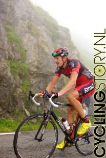 Ook Marcus Burghardt komt alleen langsrijden (foto: © Laurens Alblas/Cyclingstory.nl)