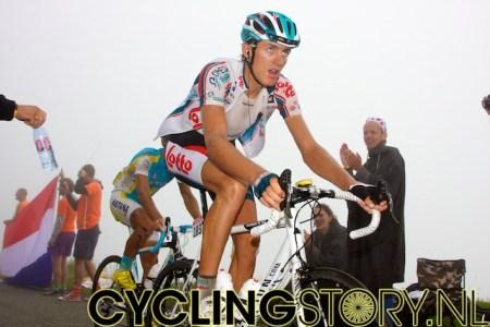 Zoals veel andere renners heeft ook De Greef zijn blik op oneindig (foto: © Laurens Alblas/Cyclingstory.nl)