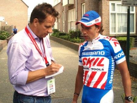 Uittredend winnaar Kenny van Hummel was na afloop niet geheel tevreden. (foto: © Tim van Hengel/Cyclingstory.nl)