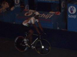 De goedlachse sprinter Gregory Baugé was de maat tijdens de sprintonderdelen. (foto: © Tim van Hengel/Cyclingstory.nl)