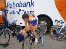 Bram Tankink in volle inspanning. (foto: © Tim van Hengel/cyclingstory.nl)