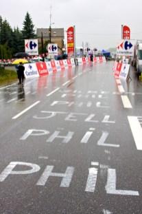 De top van de Col de Manse, een klim van de 2e categorie. (© 2011 Laurens Alblas / Cyclingstory.nl)
