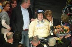 Joop Zijlaard en zijn familie. (foto: © Tim van Hengel/cyclingstory.nl)