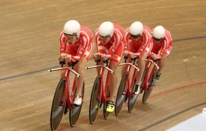 Tredjebedste tid af det danske 4000 meter hold i Milton