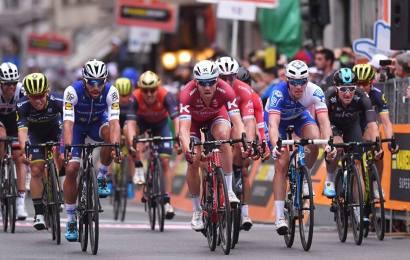 Magnus Cort utilfreds med Milano-Sanremo spurt. Se Highlights