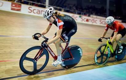 Resultater af dagens danske mesterskaber i scratch på Odense cykelbane